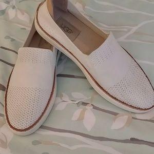 UGG slip on white sneakers